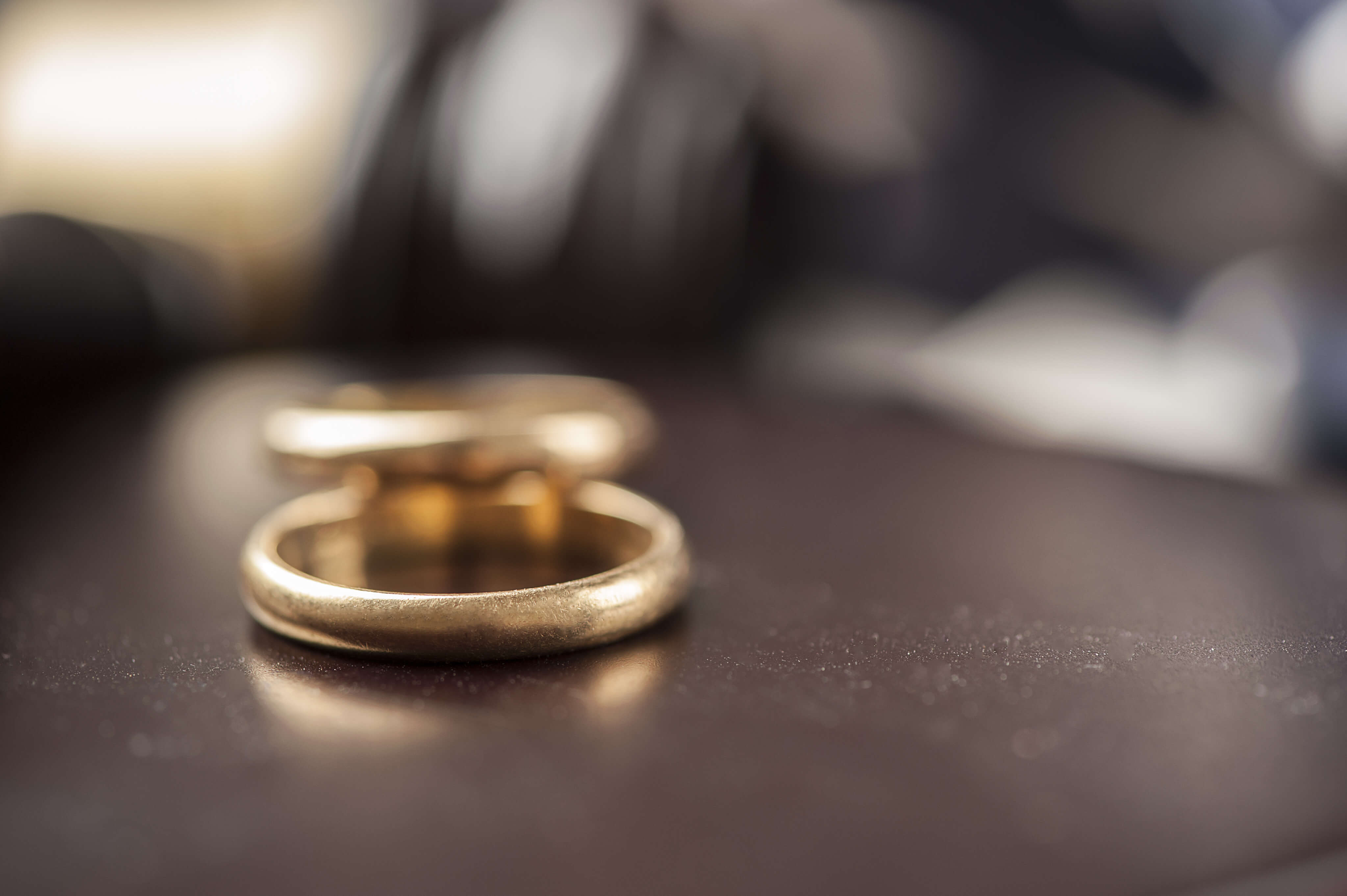 Wedding rings - no fault divorce cost