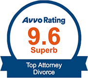 9.6 Superb Avvo Rating - Top Attorney : Divorce
